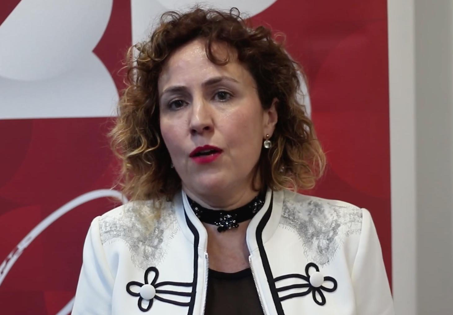 La directora general de l'Ivace, Júlia Company.