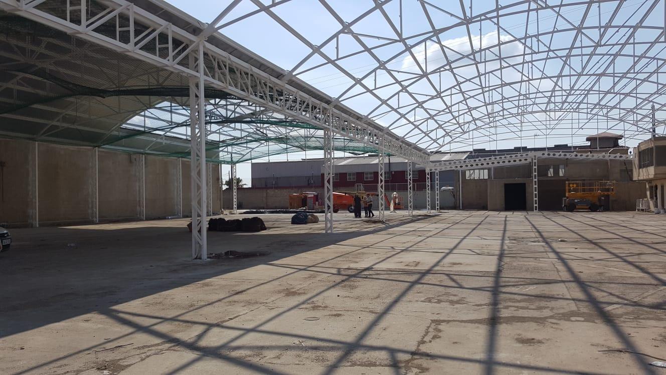 Riba-roja retira 51.520 kilos de amianto del techo de la Cebera.