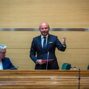 oma de posesión de Toni Gaspar como nuevo presidente de la Diputación de Valencia.