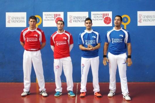 La final ha enfrentado en Albal a las formaciones de Massalfassar, con Javi Moro y Alejandro, y de La Pobla de Vallbona, con Pasqual y Zarzo