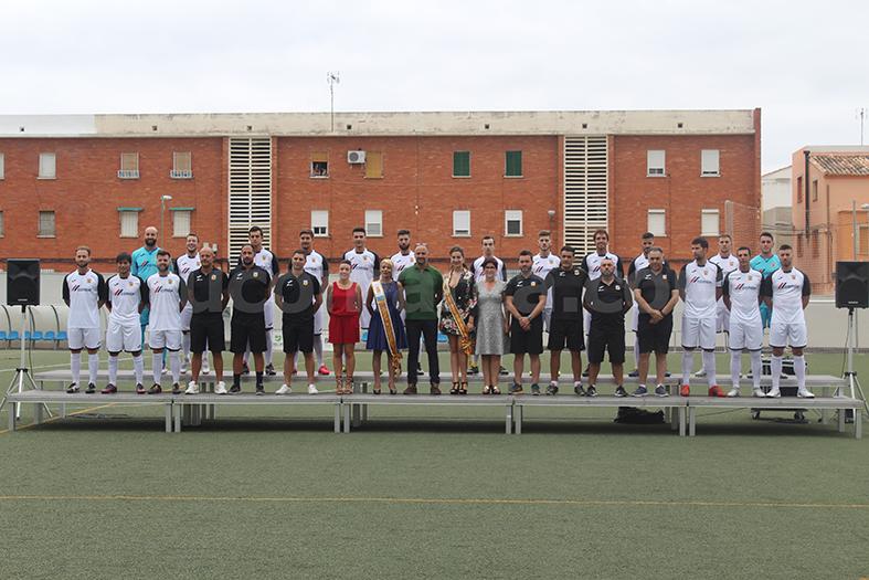La plantilla del Club Esportiu Bunyol per a la temporada 2018-19. Foto: Raúl Miralles.