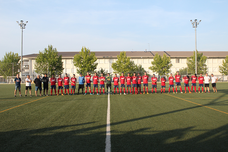 El Chiva CF lidera la tabla de Segunda Regional. Foto: Raúl Miralles.