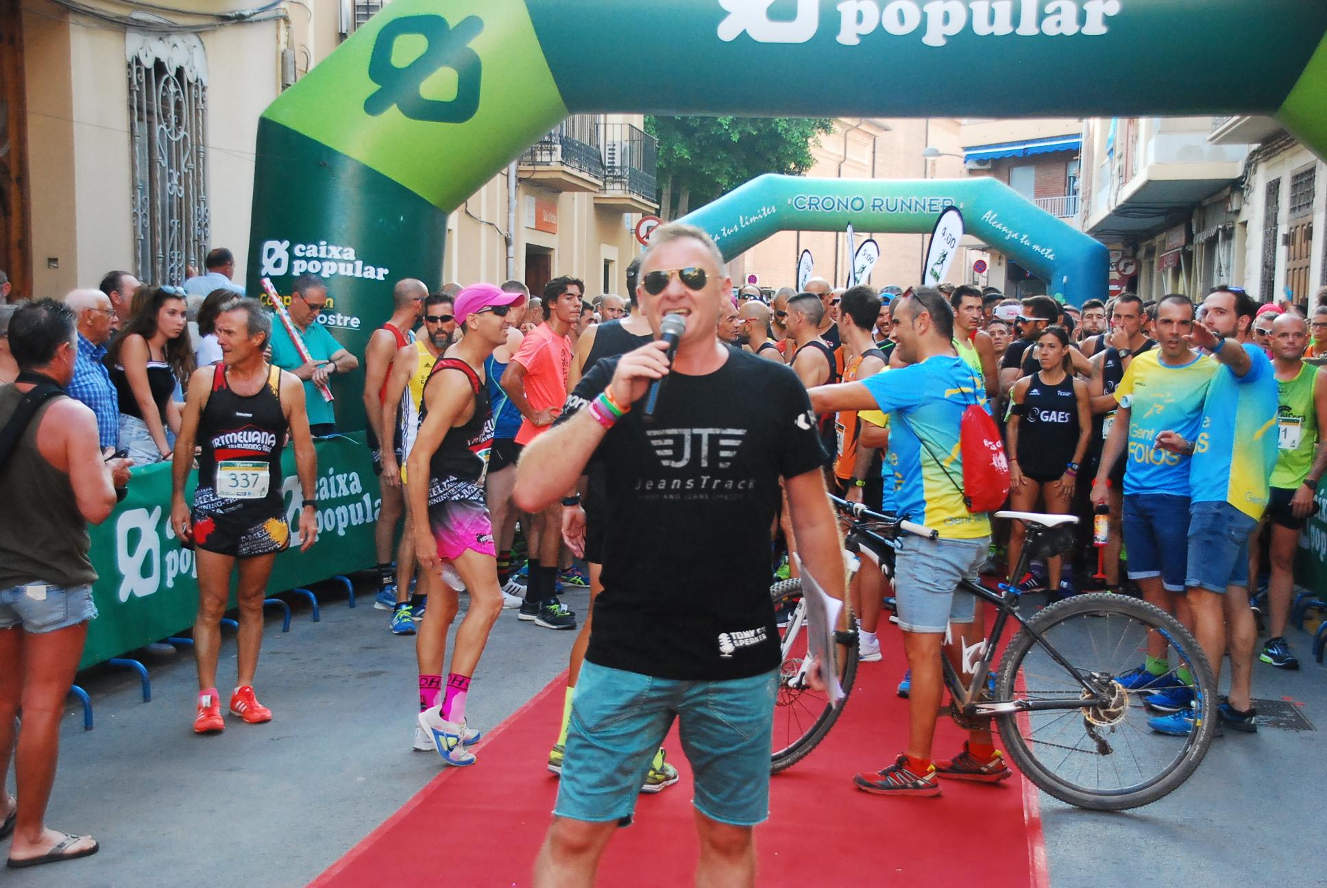 Tony Gil, ex director general del Gran Fons de Set Aigües. Foto de Fernando Quiles (FQRunner).