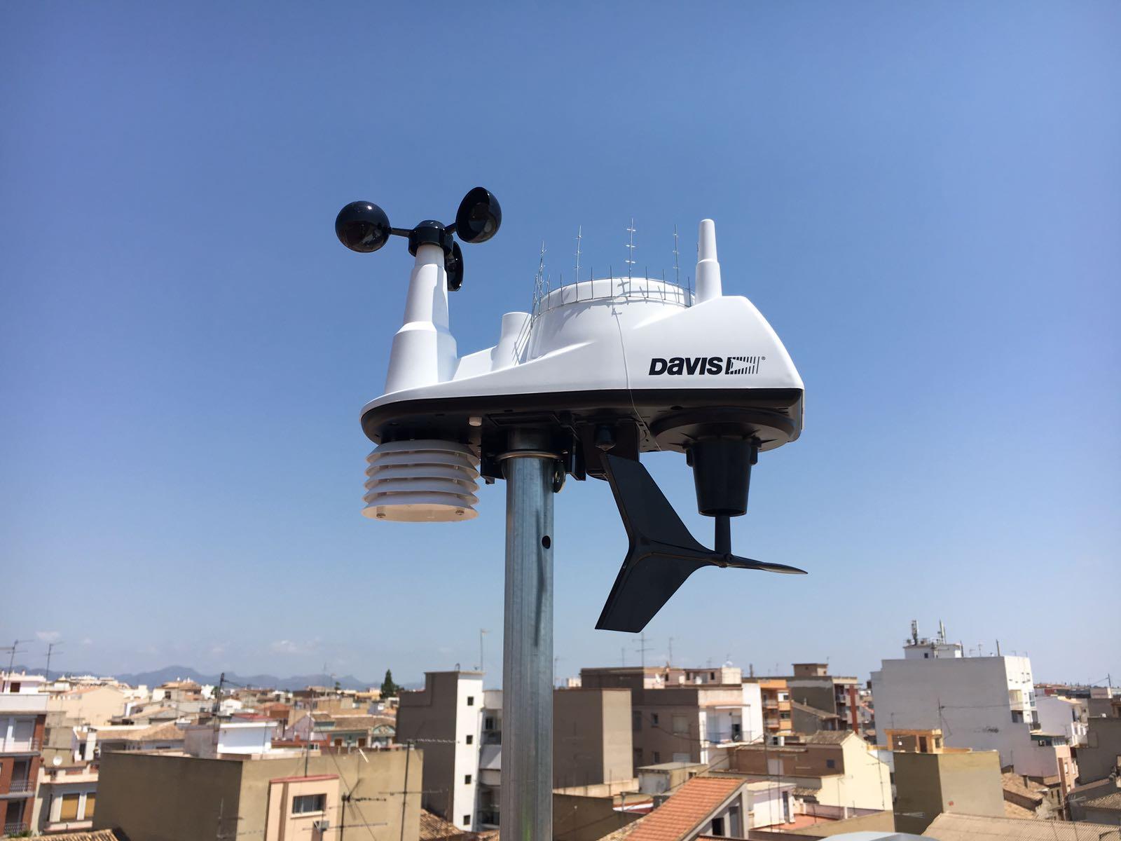 'Ajuntament de la Pobla de Vallbona ha instal·lat una estació meteorològica en el municipi.
