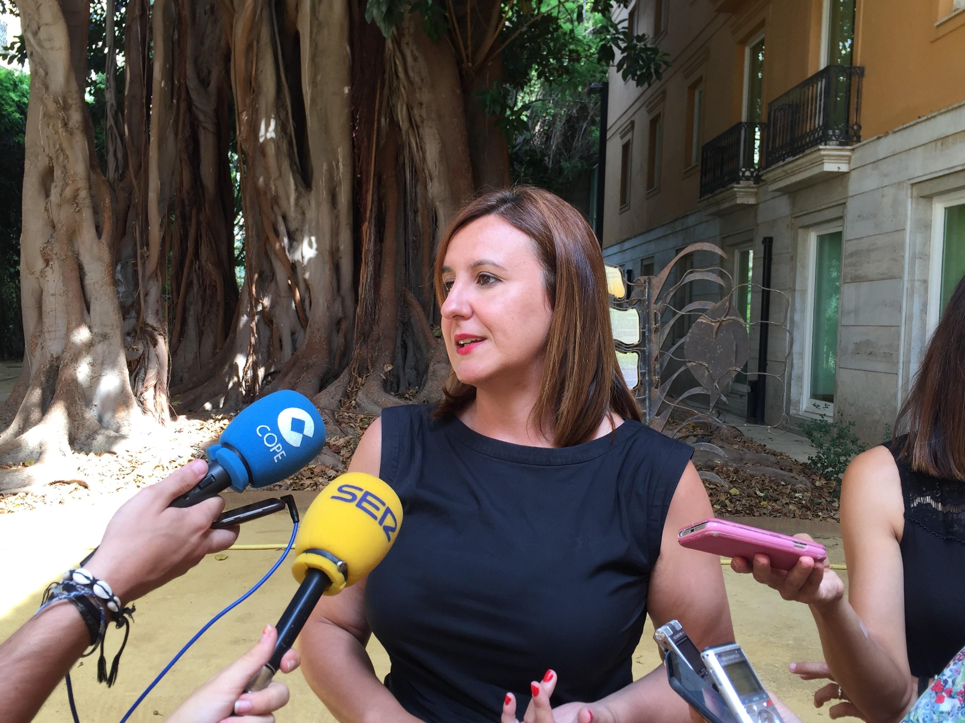 La portavoz adjunta del Grupo Parlamentario Popular (GPP), María José Català.
