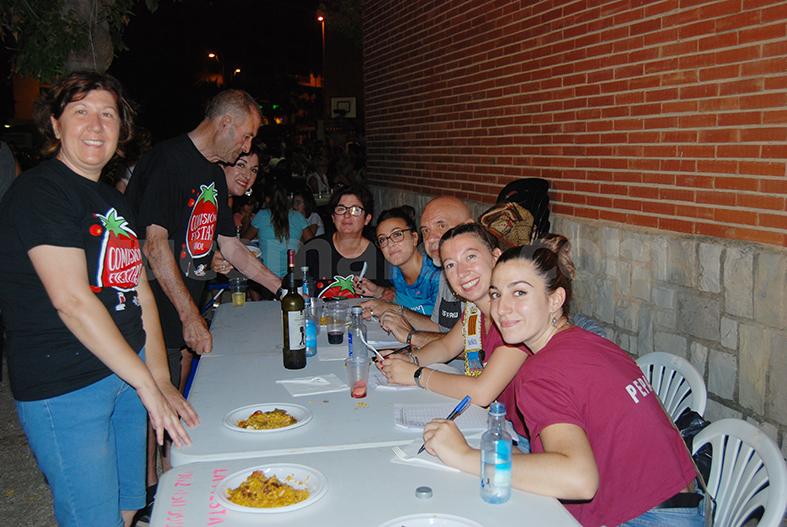 El jurado del concurso de paellas de la Feria y Fiestas 2018 de Buñol.