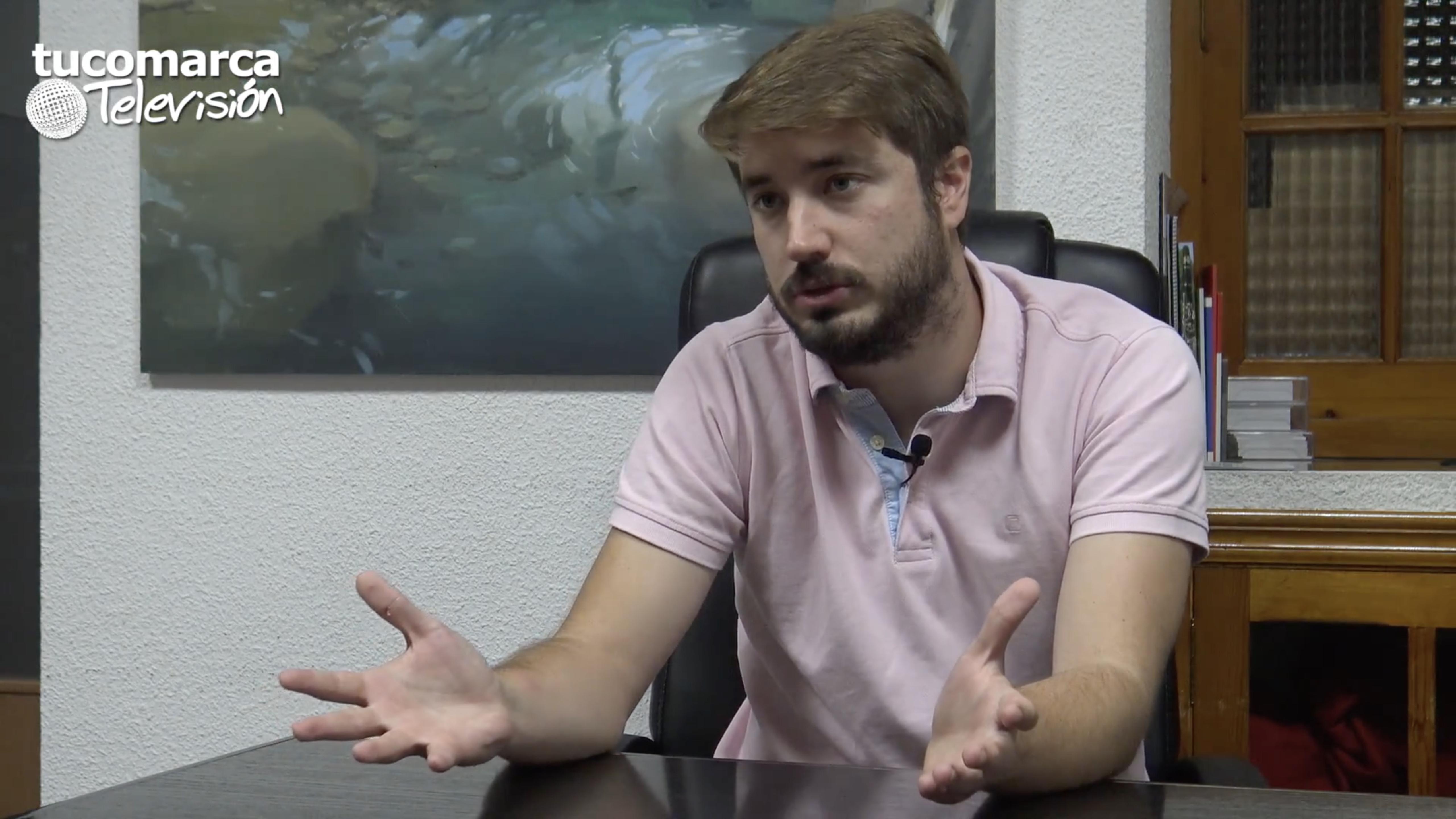 El concejal de La Tomatina de Buñol, Rafa Pérez Gil.