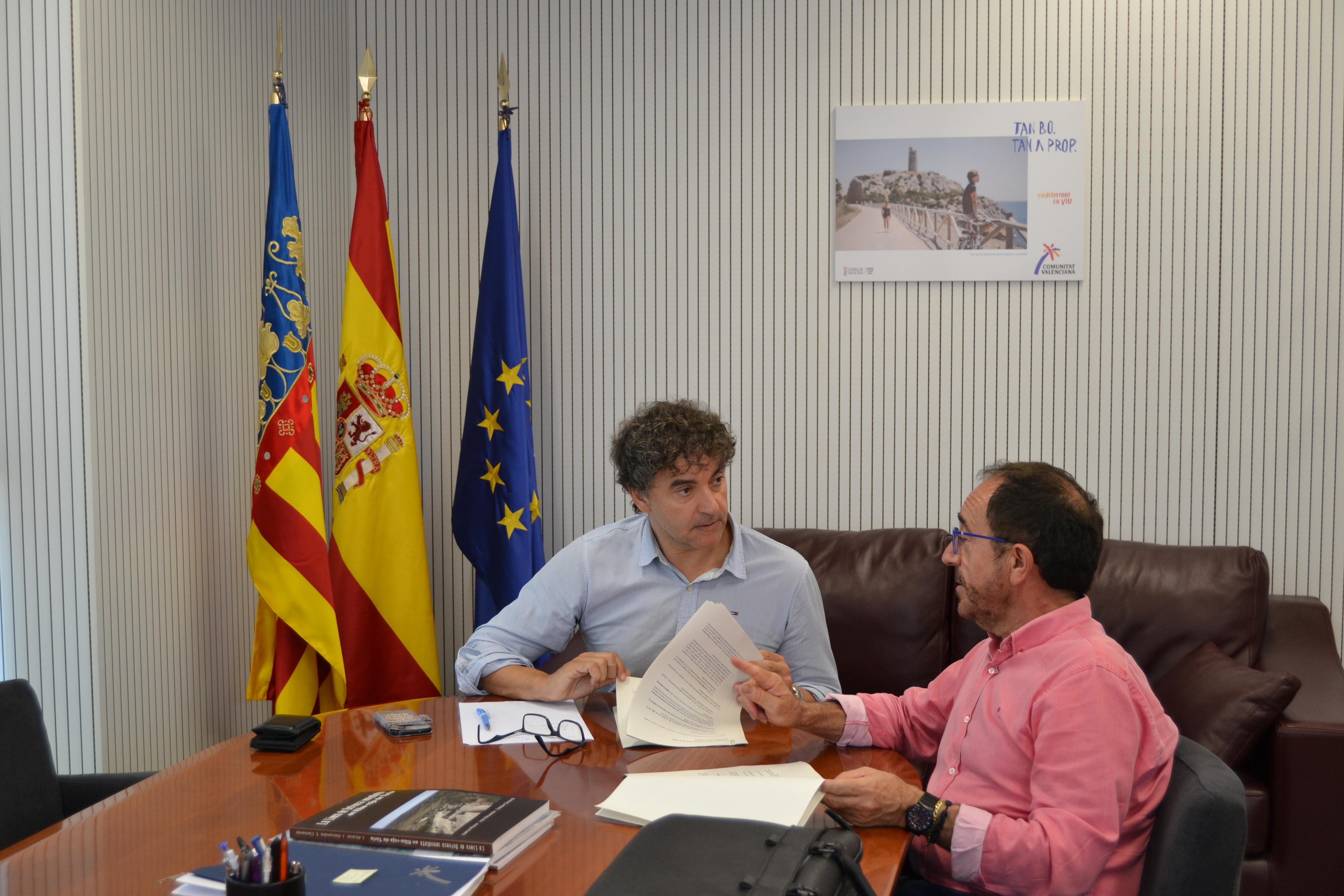 Colomer y Perelló han coincidido en la importancia de este encuentro.