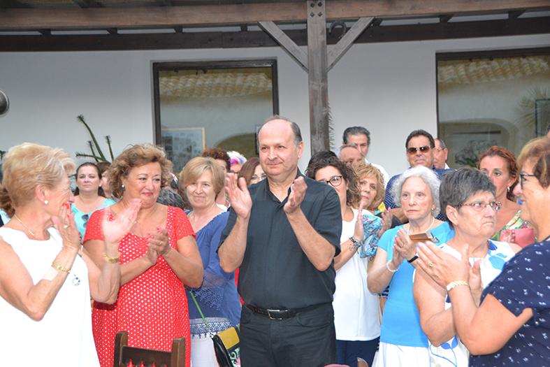 José Vicente Martínez Muedra agradeció de corazón a todos esta emotiva despedida.
