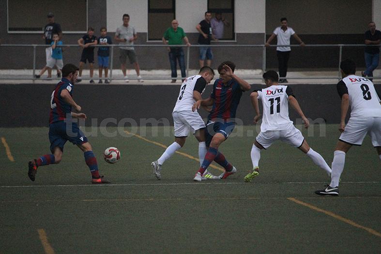 El CD Bunyol ha sumat una nova victòria a casa. Foto: Raúl Miralles.