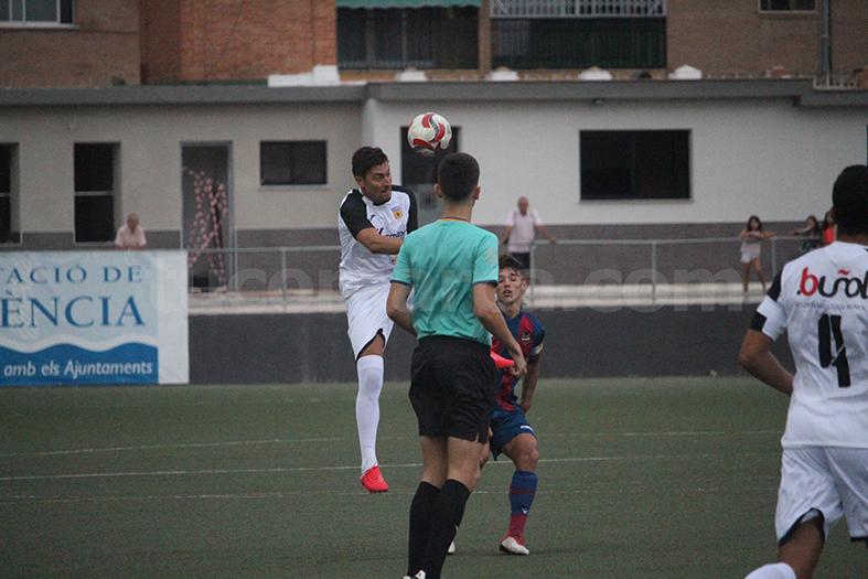 El CD Buñol ha sumado una nueva victoria en casa. Foto: Raúl Miralles.