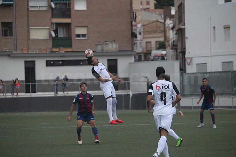 El CD Buñol ha logrado una importante victoria en casa para recuperar moral y posiciones. Foto: Raúl Miralles.