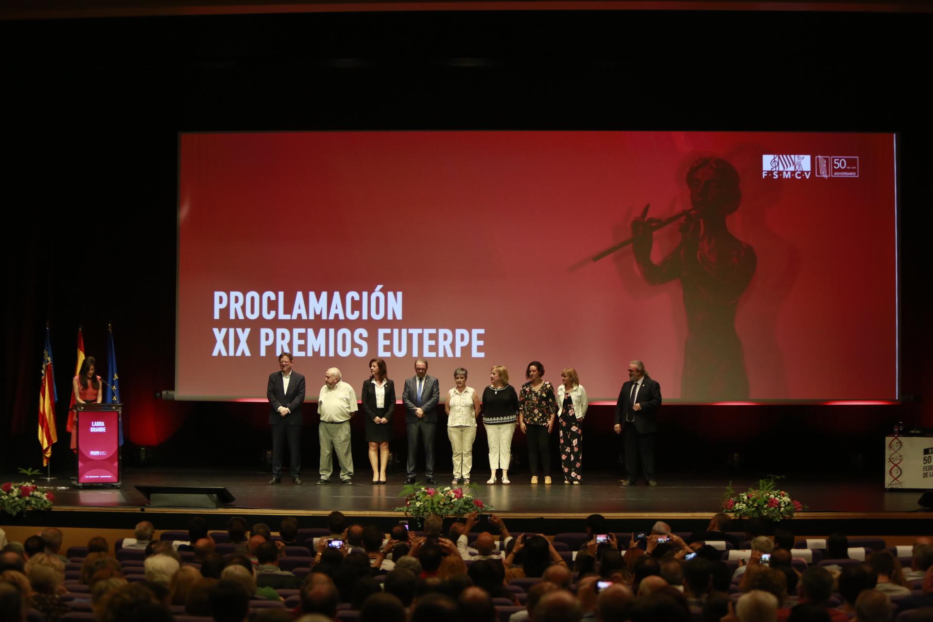 En este encuentro se han proclamado los Premios Euterpe 2018.