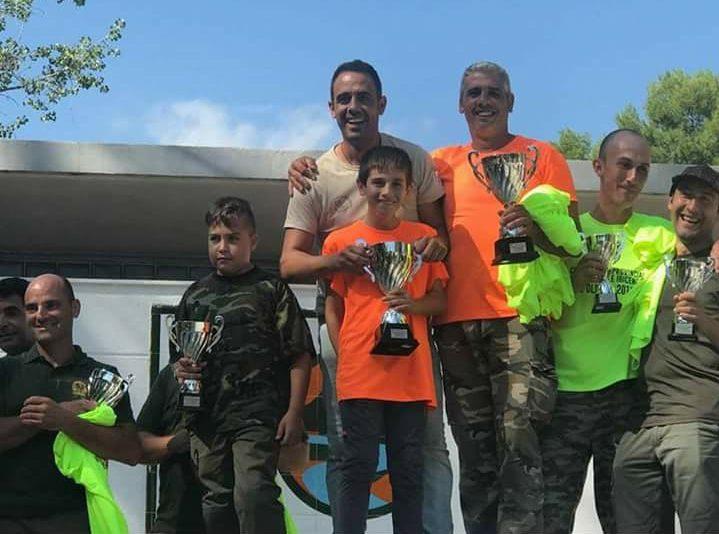 Los ganadores en la Vall d'Uxó.