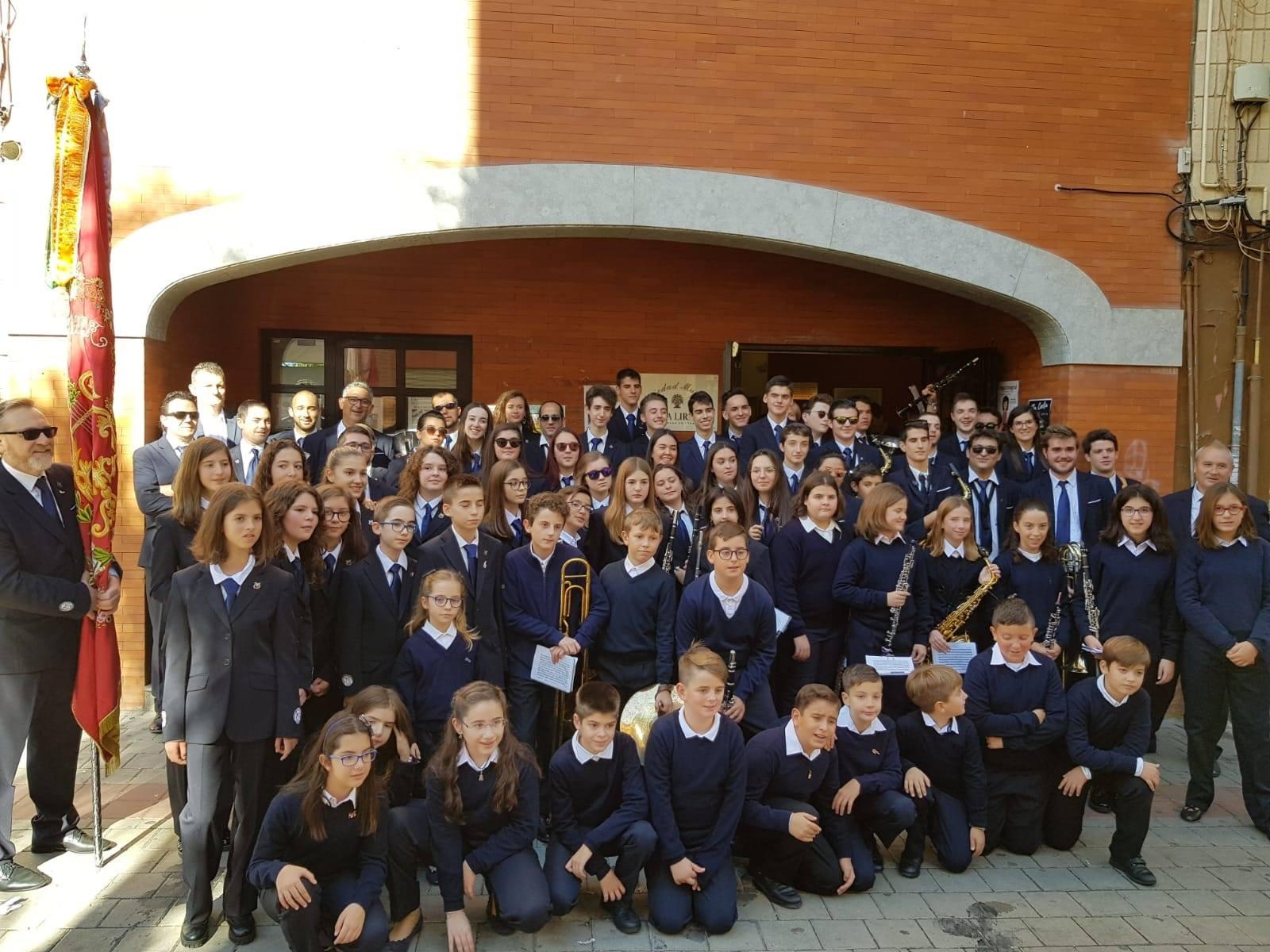 Entrega de instrumentos y conciertos conmemorativos de Santa Cecilia 2018 en Cheste.