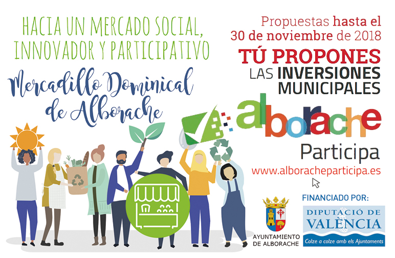 L'Ajuntament d'Alborache estrena els seus pressupostos participatius.