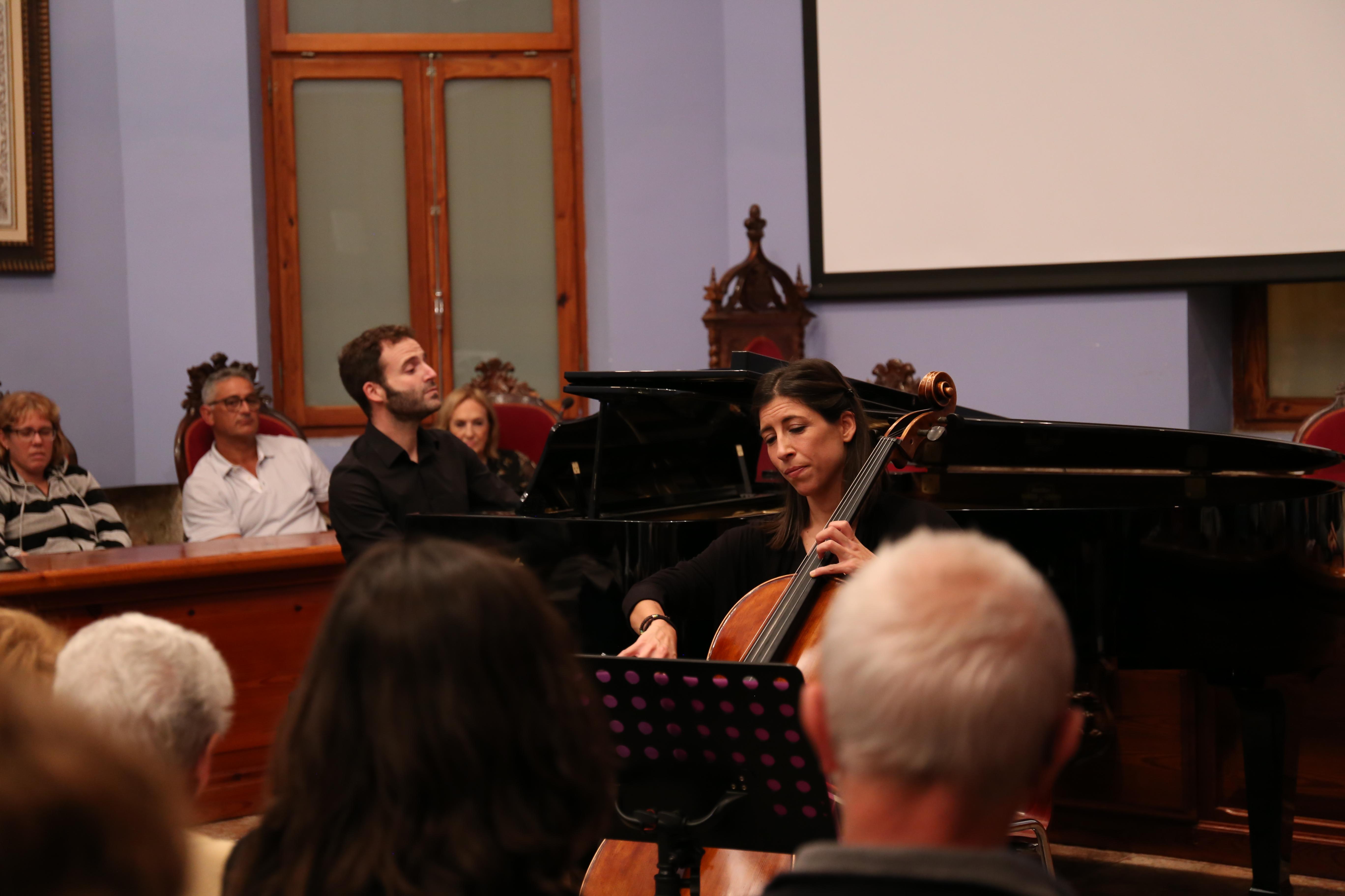 El programa del concierto contó con nueve obras de compositores como Bach o Chopi.
