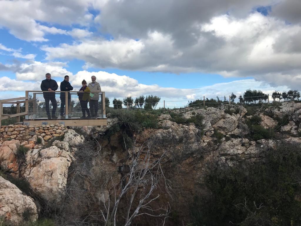 La restauración y conservación de la en torno a La Solana se ha realizado con una inversión de 24.200 euros del Programa de Recuperación de Espacios Degradados.