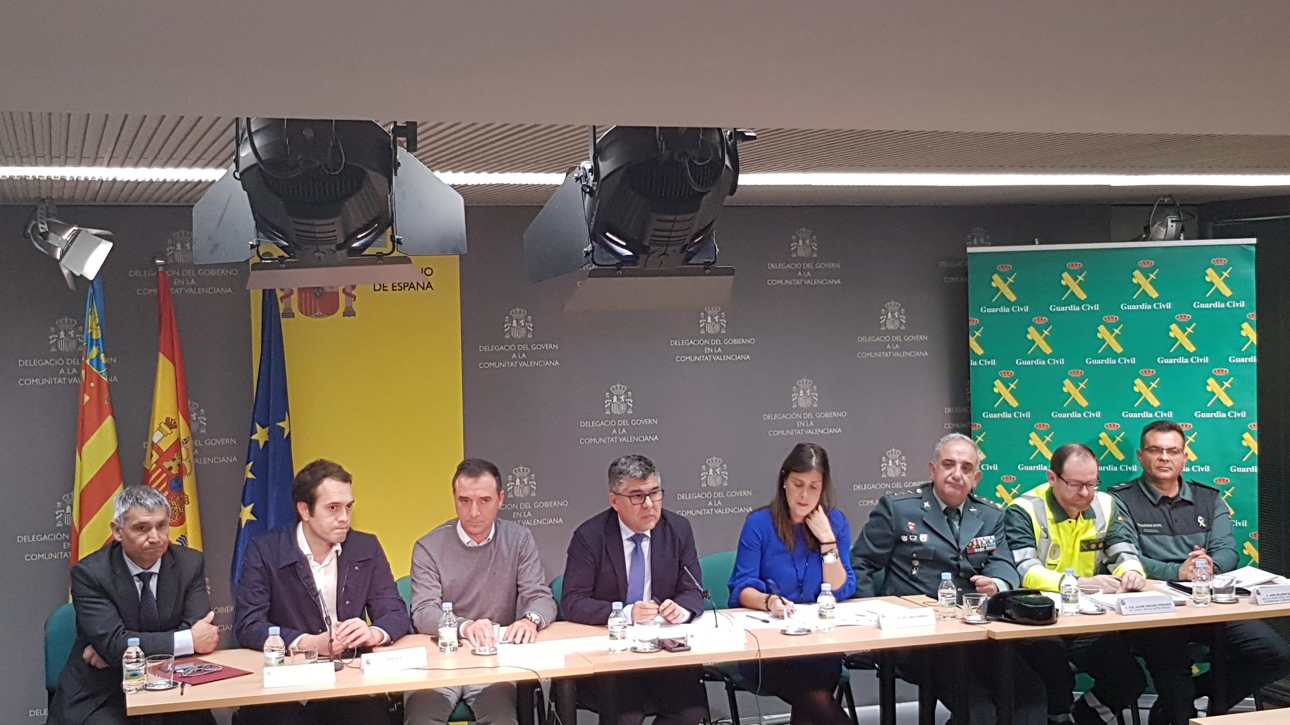 Este año se suman los efectivos de Protección Civil, de la Agencia de Seguridad y Respuesta de las Emergencias y de los ayuntamientos de Ches y Riba-roja del Túria.