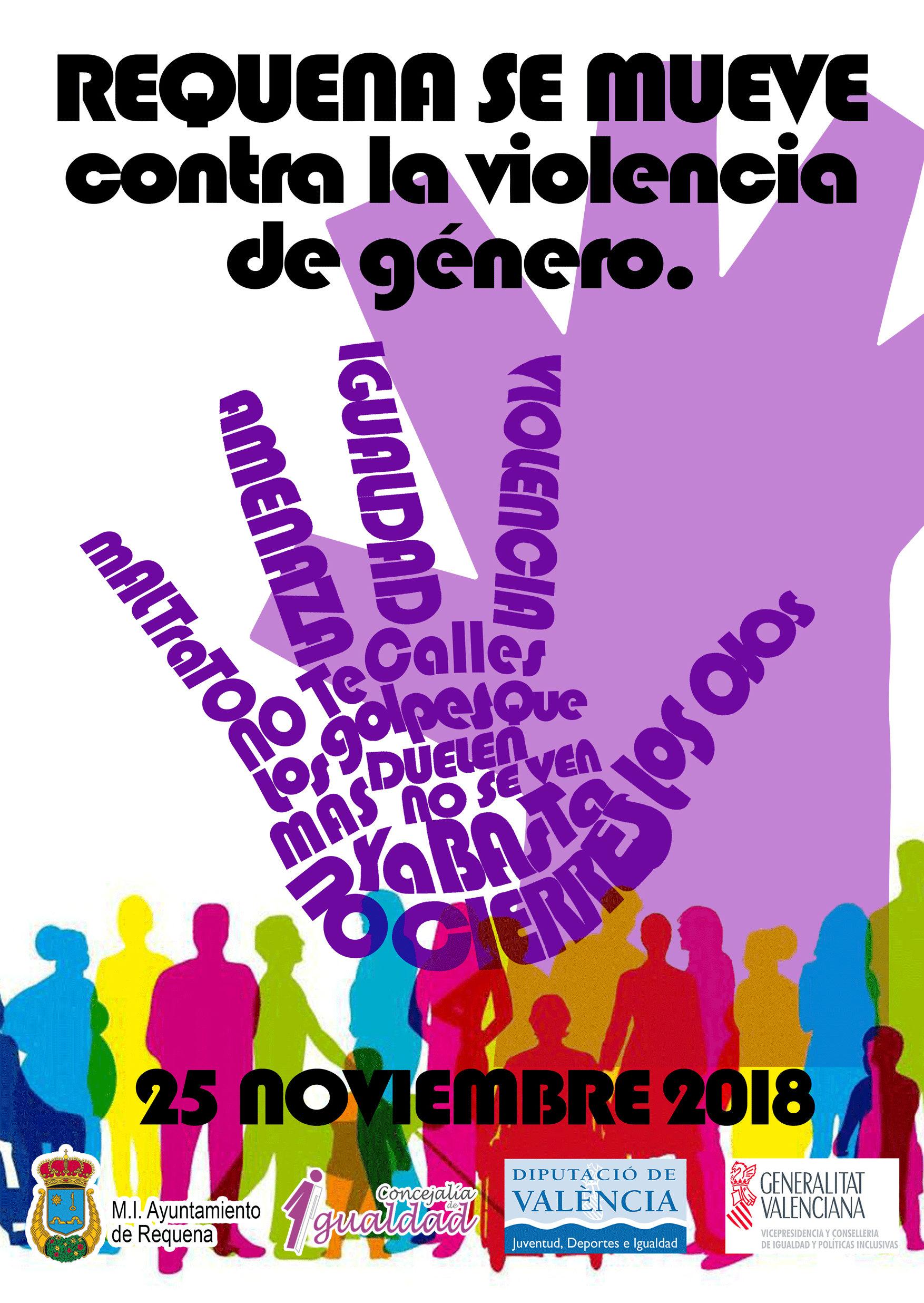 actividades en torno al 25 de noviembre Día Internacional Contra la Violencia de Género.