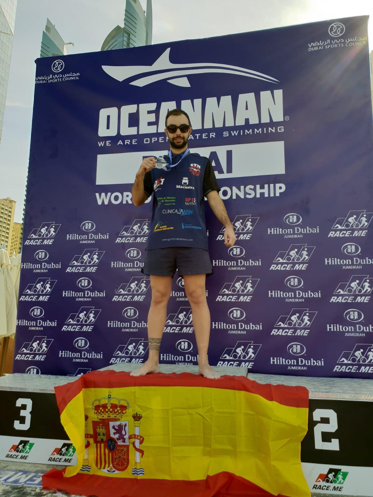 El deportista macastrero José Vicente Romero.