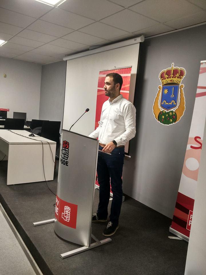 Mario Sánchez repite como candidato a la alcaldía de Requena por el PSOE.