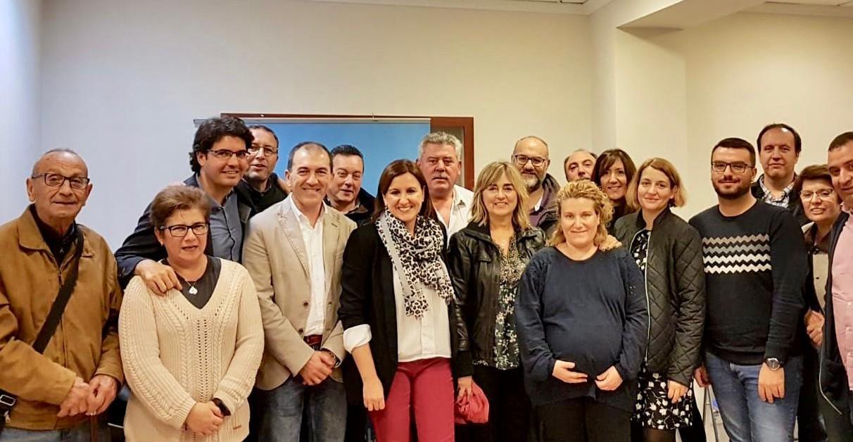 """La gestora del PPVAL """"da el pistoletazo de salida"""" para que los municipios de la comarca confeccionen sus comités electorales."""
