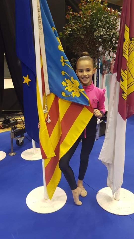 La joven deportista chivana Sara Hernández.