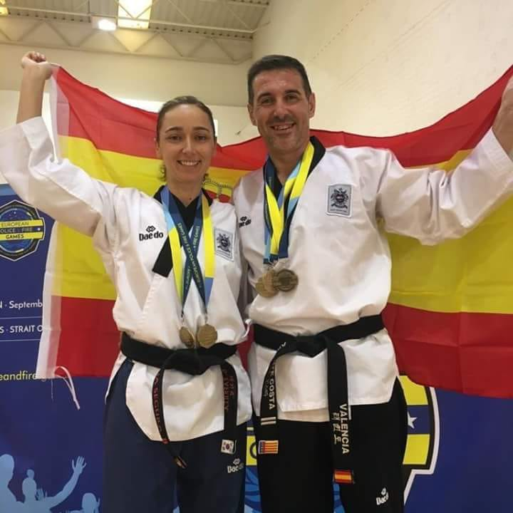José Zafrilla y Julia Segura, matrimonio campeón.