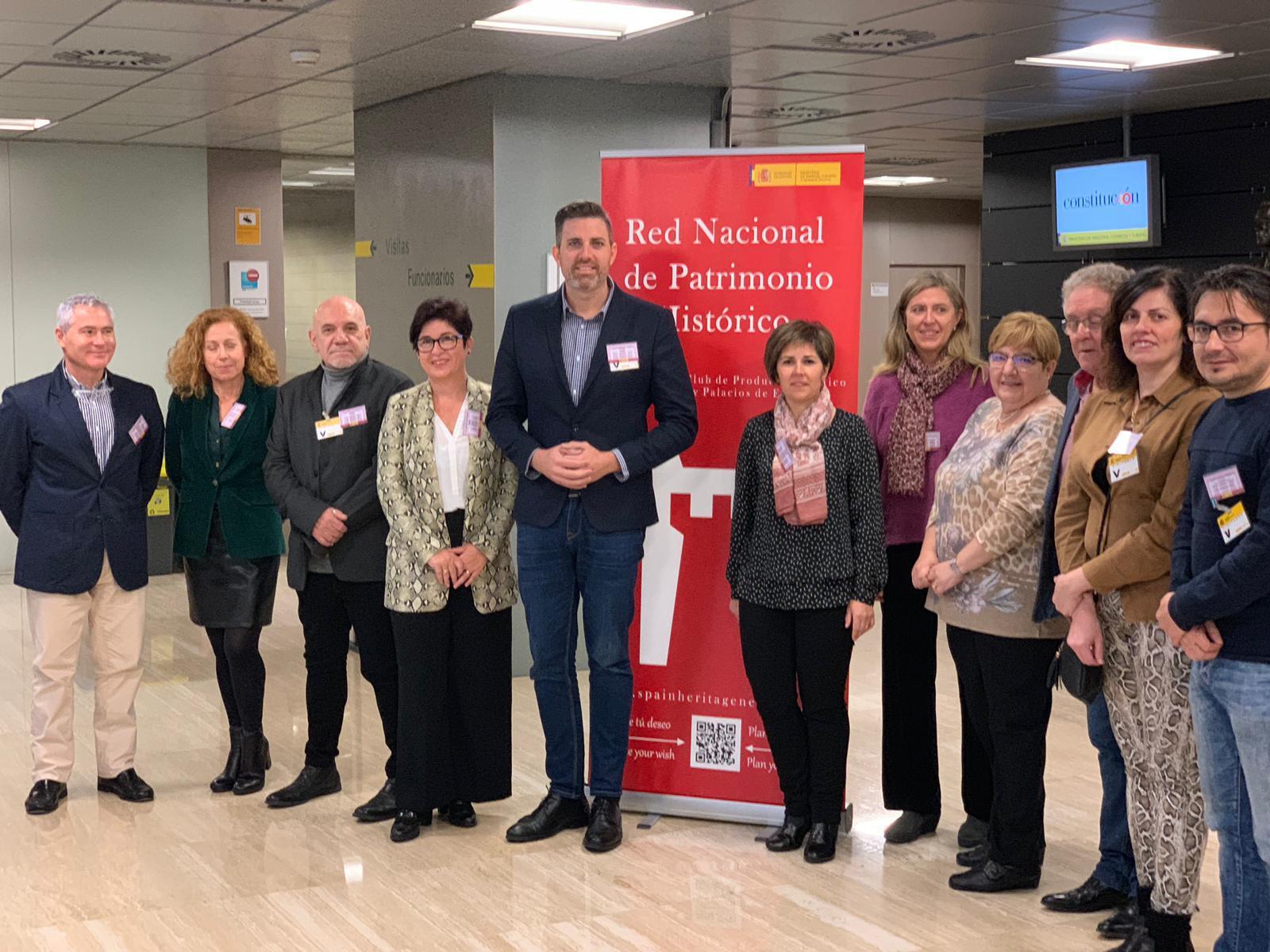 La red nacional está apoyada por el Ministerio de Turismo y Turespaña e impulsa el turismo cultural desde los castillos y palacios