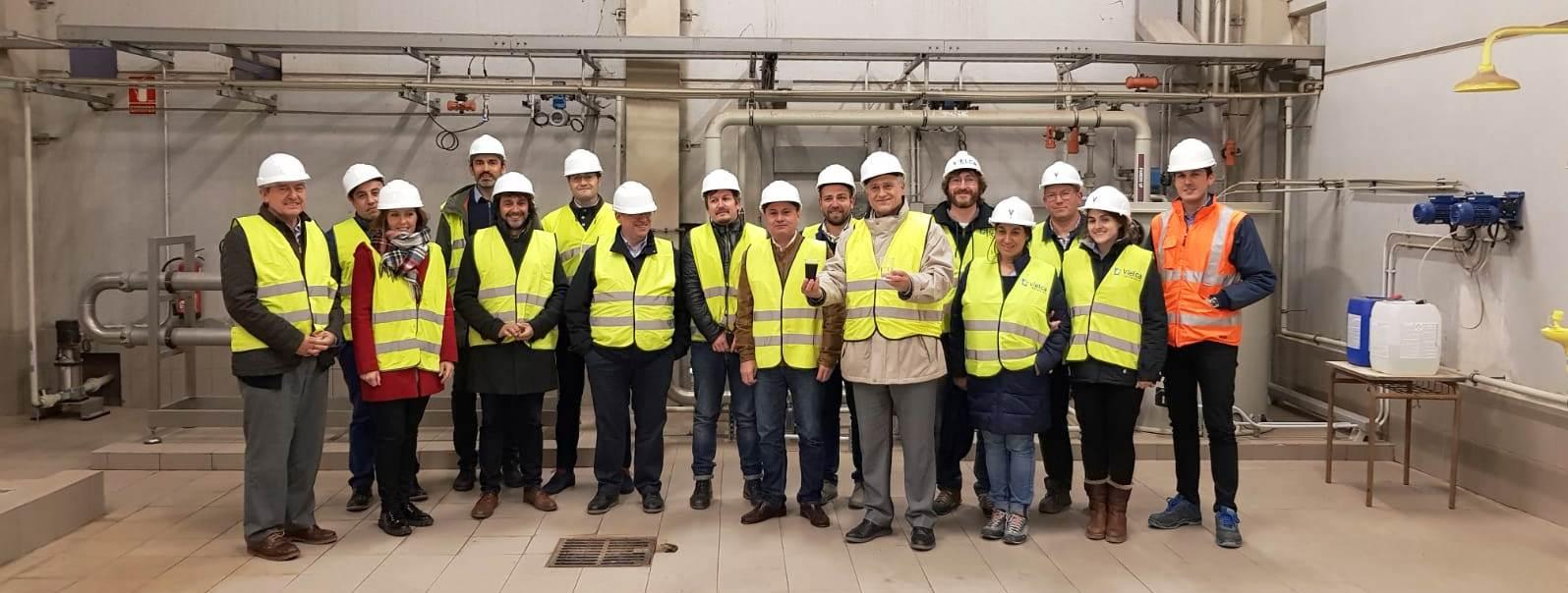 La Comisión de Medio Ambiente de la FEMP en las instalaciones del CVI en Caudete de las Fuentes.