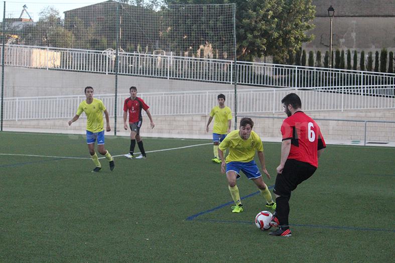 El Atlético de Macastre se ha llevado tres valiosísimos puntos. Foto: Raúl Miralles.