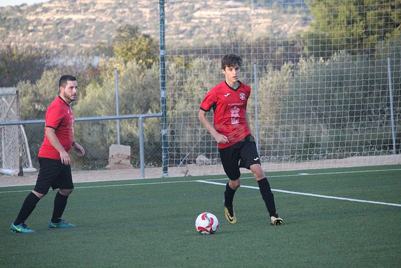 El Atlético de Turís se ha repartido los puntos. Foto: Raúl Miralles.