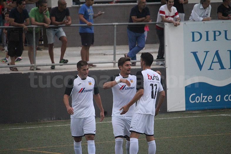 El CD Buñol ha sumado una importante victoria que lo coloca séptimo en la tabla. Foto: Raúl Miralles.