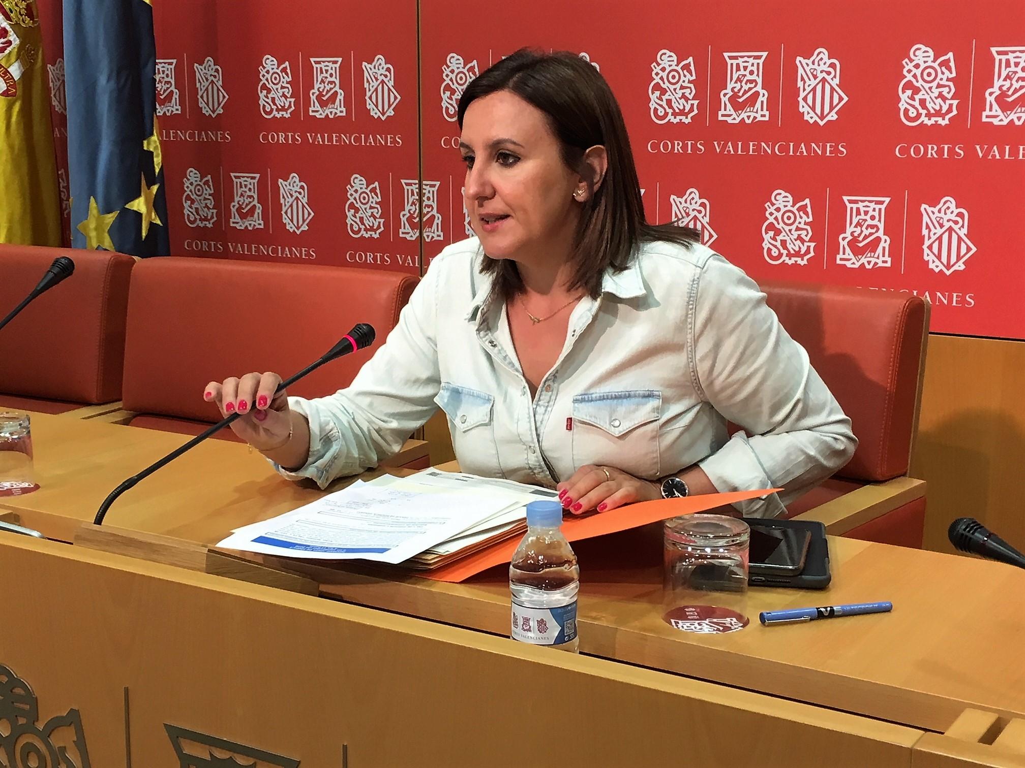 La portavoz adjunta del Grupo Parlamentario Popular (GPP), María José Catalá.