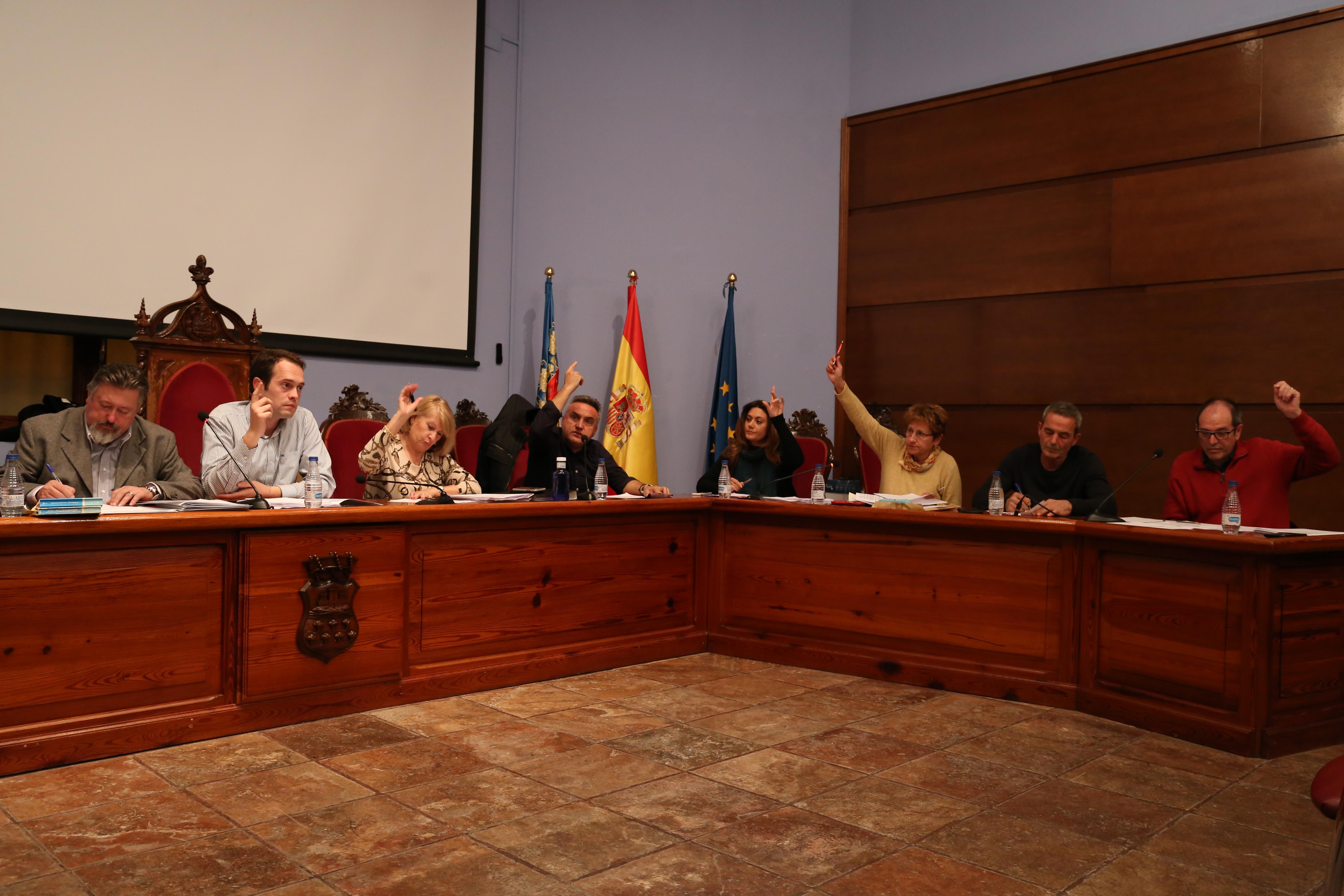 Una imagen de la última sesion plenaria del mes de diciembre.