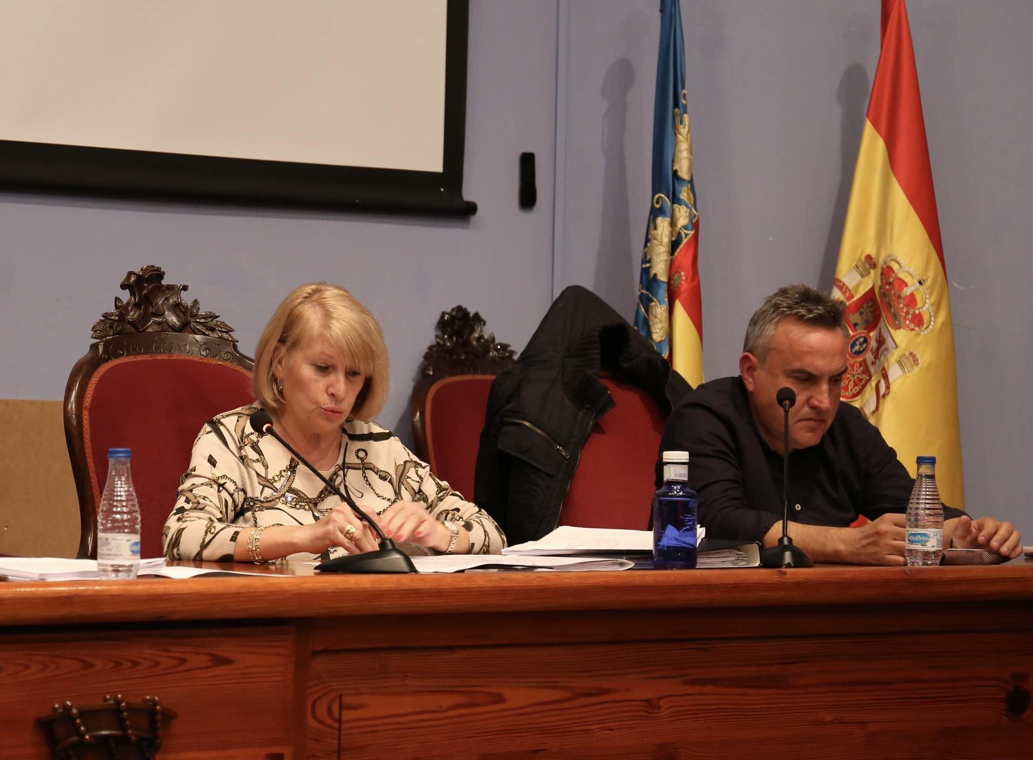 La concejala encargada de organizar en Cheste las actividades paralelas al Gran Premio de Motociclismo, Carmen Delgado.