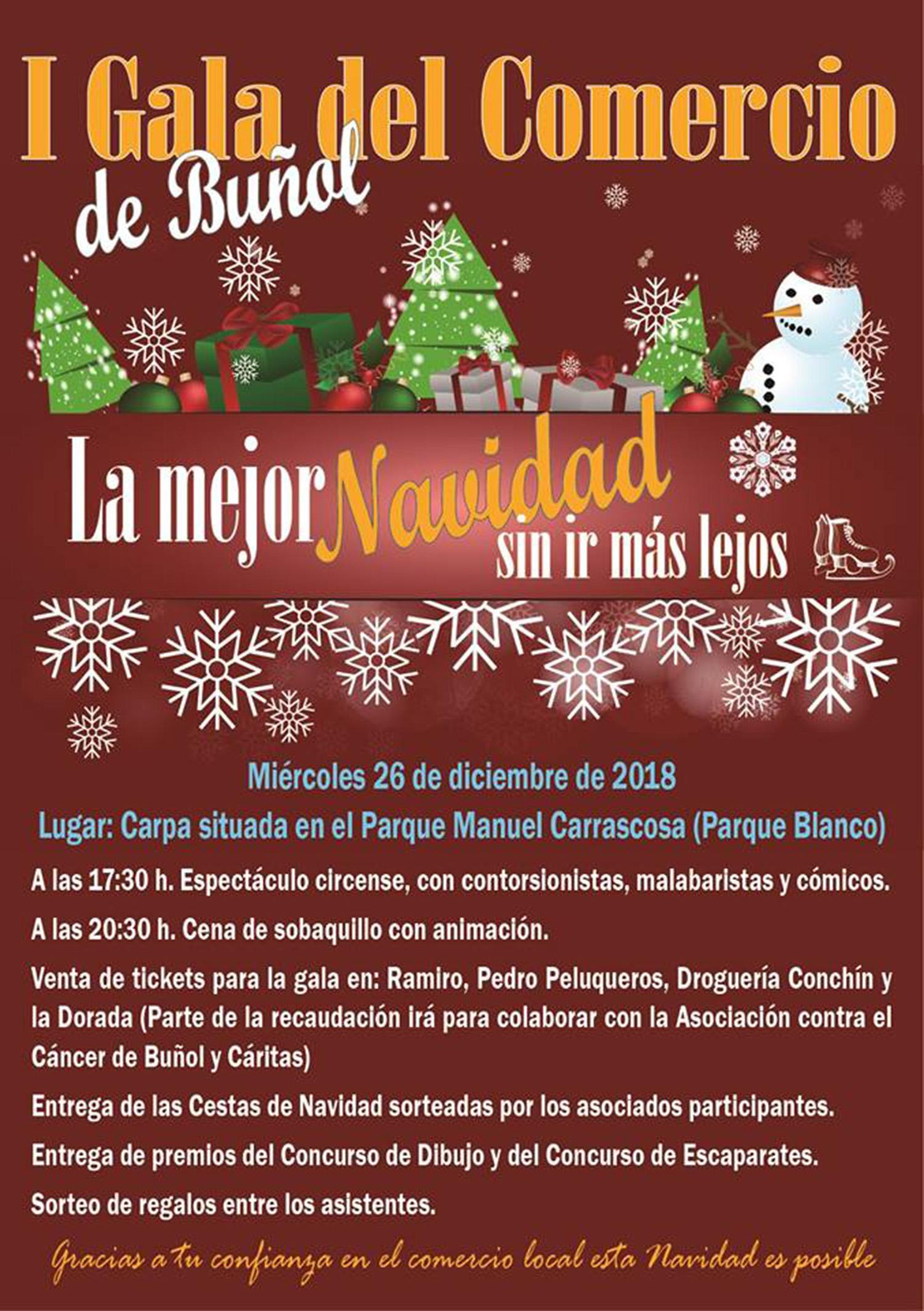 Cartel de la iniciativa en Buñol.