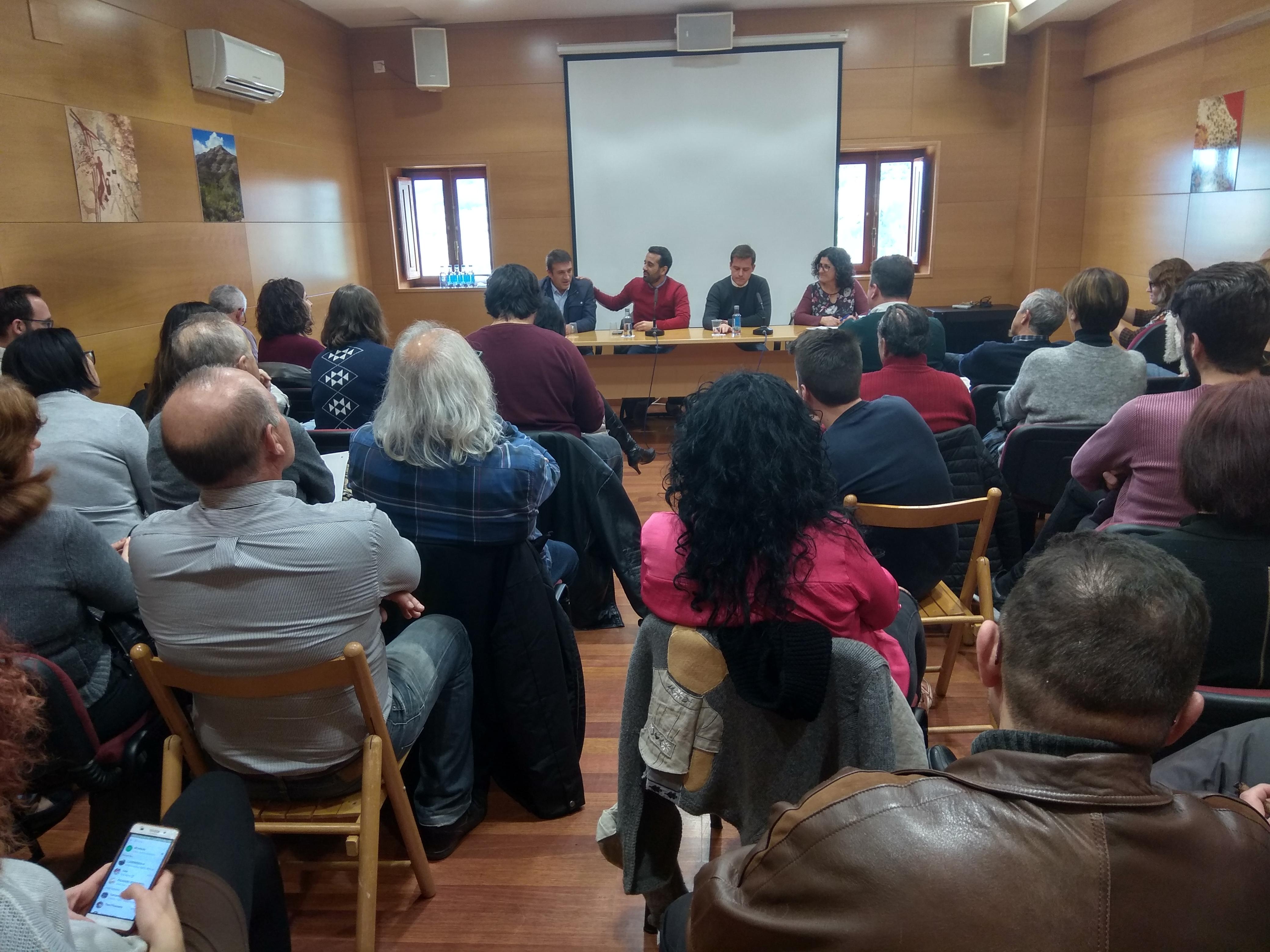 El secretario de Organización del PSPV-PSOE, José Muñoz ha participado este fin de semana en el almuerzo comarcal de La Costera-La Canal.