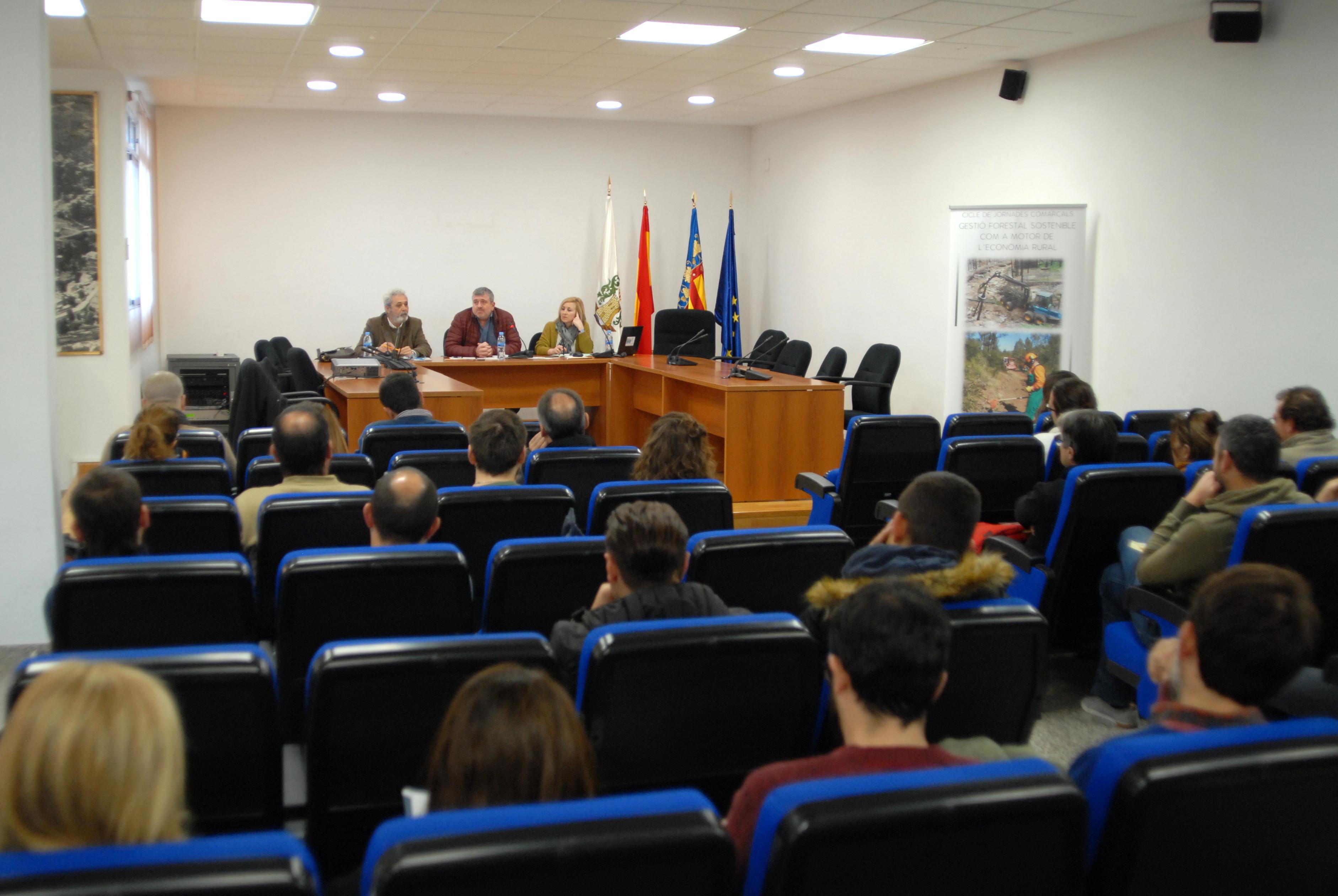 La Diputació ha invertido 175.935 euros en estas comarcas a través del Programa de Gestión Forestal Sostenible.