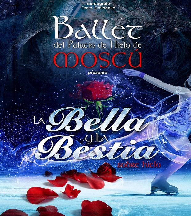 El Ballet sobre hielo del Palacio de Hielo de Moscú, representa en Buñol y Requena el espectáculo La Bella y la Bestia.
