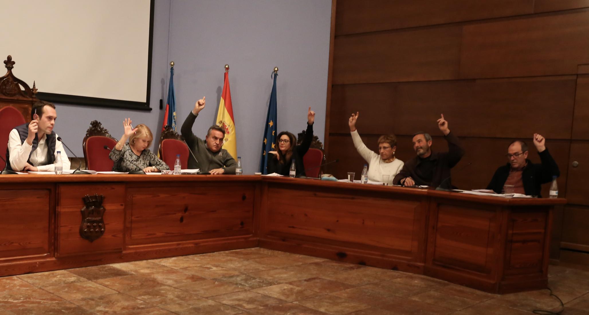 También se aprobó por unanimidad la moción de Compromís ante la crisis de los cítricos y la presentada por el grupo Socialista para reforzar las medidas contra la violencia machista.