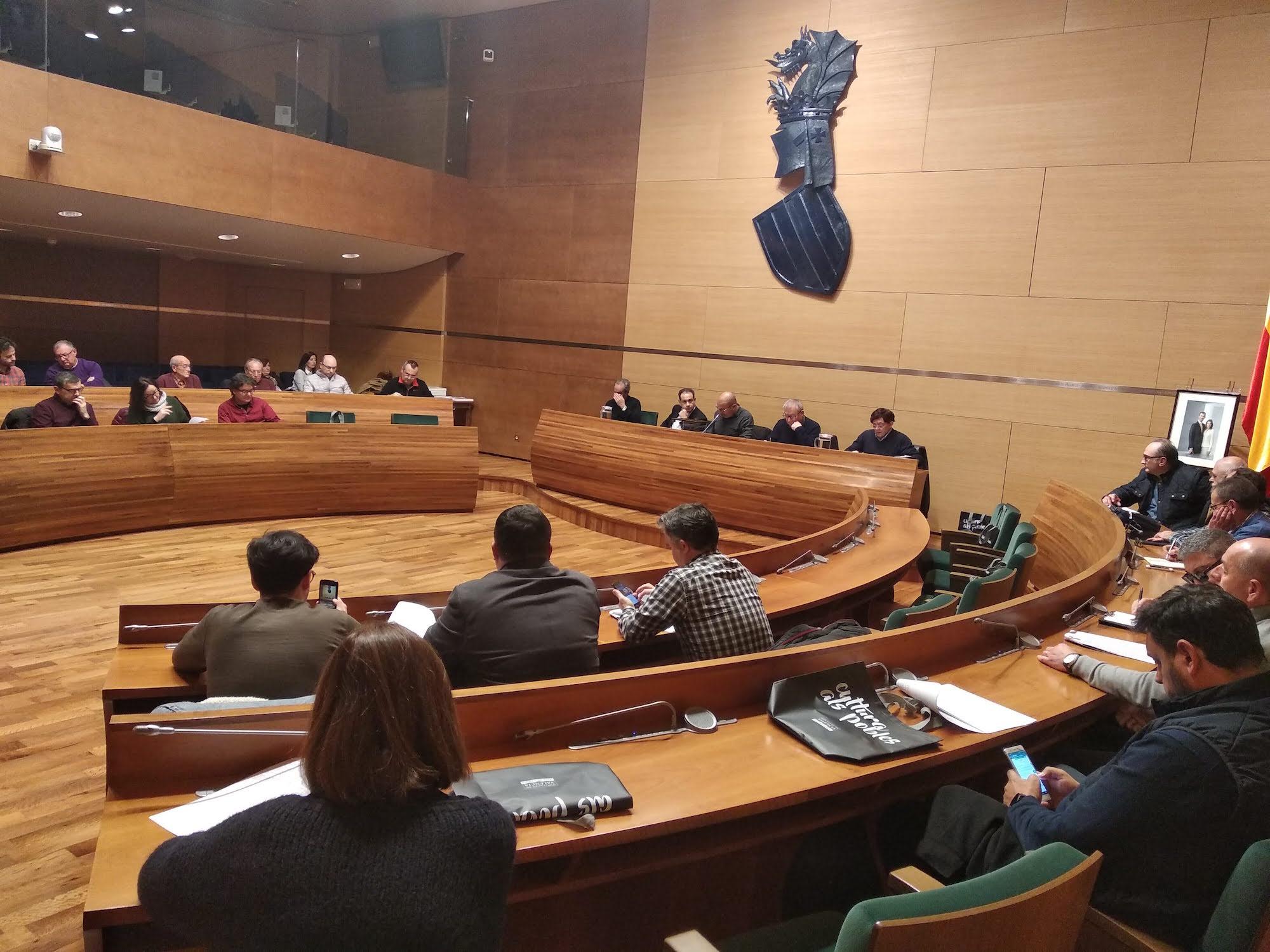 Sorteo del Certamen de Bandas realizado en la Diputació de València.