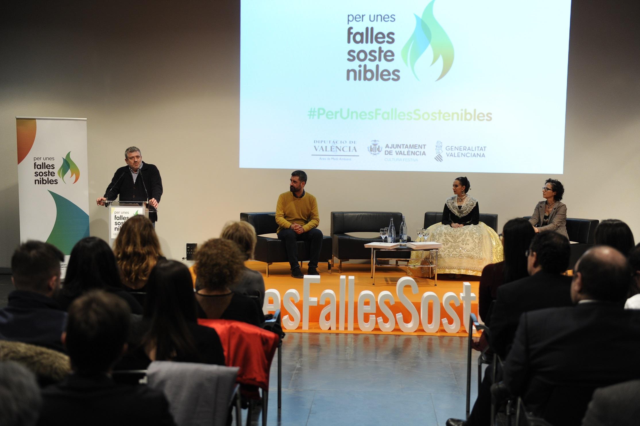 El mundo de las fallas empieza a sumarse al proyecto 'Por unas Fallas Sostenibles'.