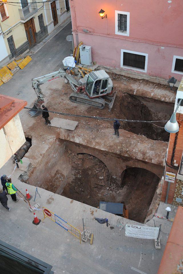 Los trabajos de excavación se iniciaron a principios de diciembre de 2018.