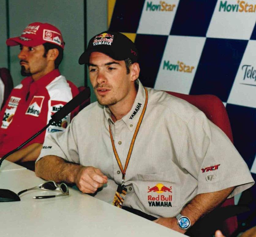El piloto francés fue el ganador del primer Gran Premio de la Comunitat Valenciana en 1999 en la categoría de 500cc.