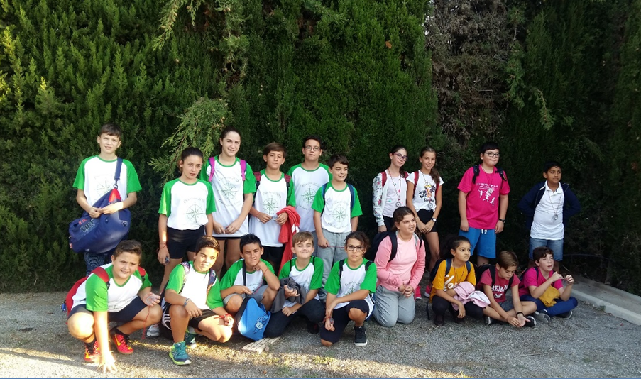El CEIP Joaquín Muñoz ha participado por primera vez en el campeonato autonómico escolar de deporte de orientación.