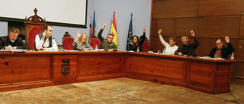 El equipo de gobierno presenta el presupuesto de 2019.
