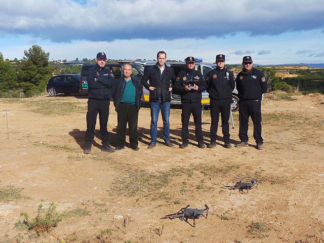 La Policía Local de Cheste es la primera en España con autorización para utilizar drones en espacio aéreo controlado.