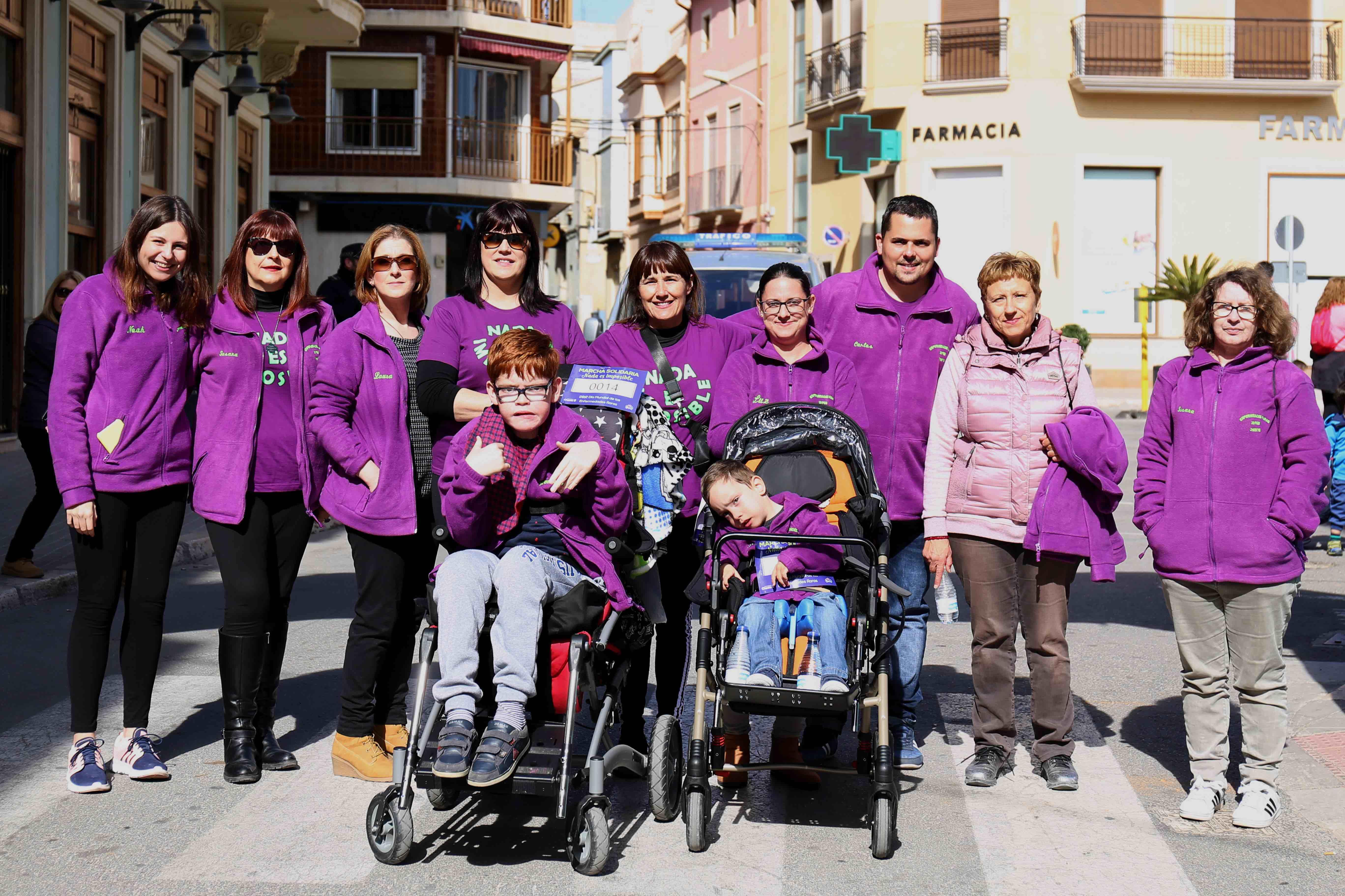 Cheste recauda 2.088 euros para la investigación de enfermedades raras.